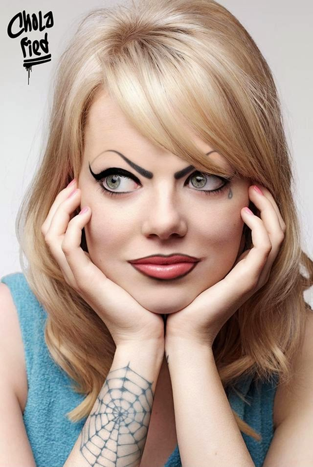 Chola Emma Stone – 143 Espiderman