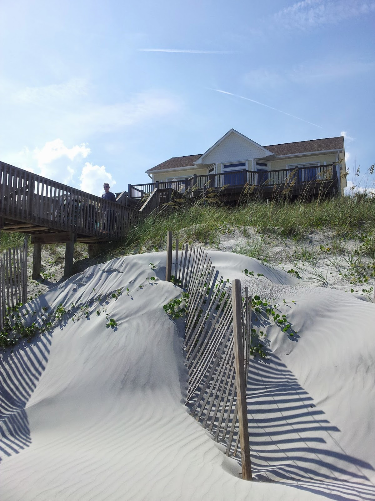 Carolina Beaches of Yesteryear:  Topsail Beach