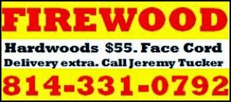Hardwood Firewood For Sale....#1015