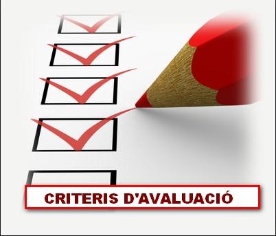 Criteris d'avaluació