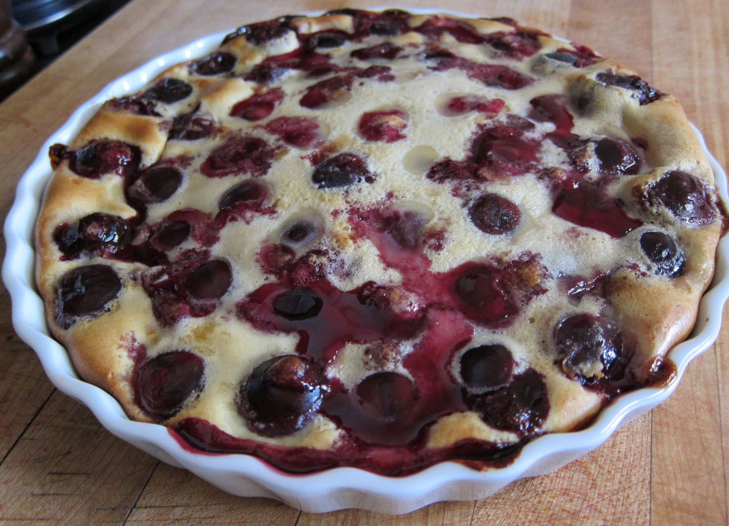 Cherry Clafoutis (Clafouti) Recipe — Dishmaps