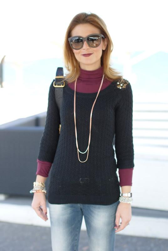 Stradivarius sweater, Lerock jeans