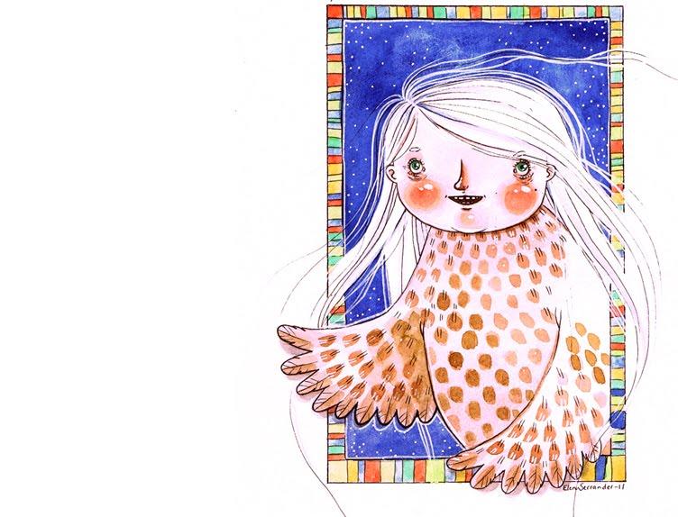 Elena Illustrerar