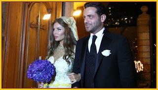 الفنانة اللبنانية نيكول سابا وزوجها الفنان اللبنانى يوسف الخال