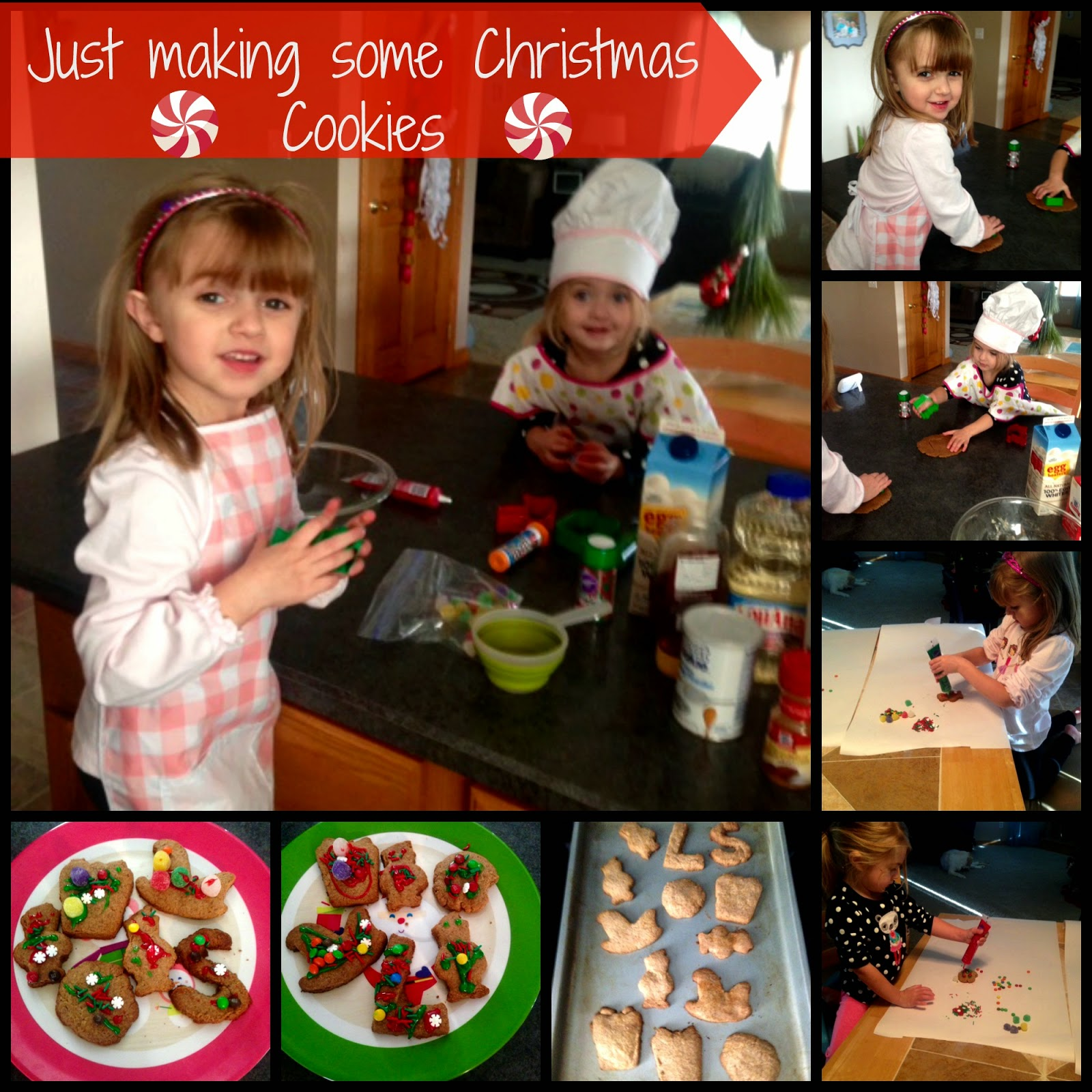Clean Eating Cut Out Cookies, Healthy Holiday Cookie Recipes, Cookie Cutter Recipes