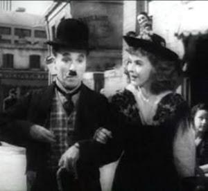 Paulette Goddard e Charlie Chaplin