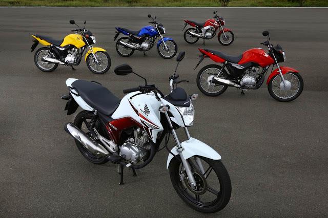 Honda CG 125/150 - linha 2014
