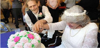 It was never too late to be happy for this couple
