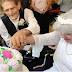 Terminally-ill couple falls in love and marries in hospice care faicility