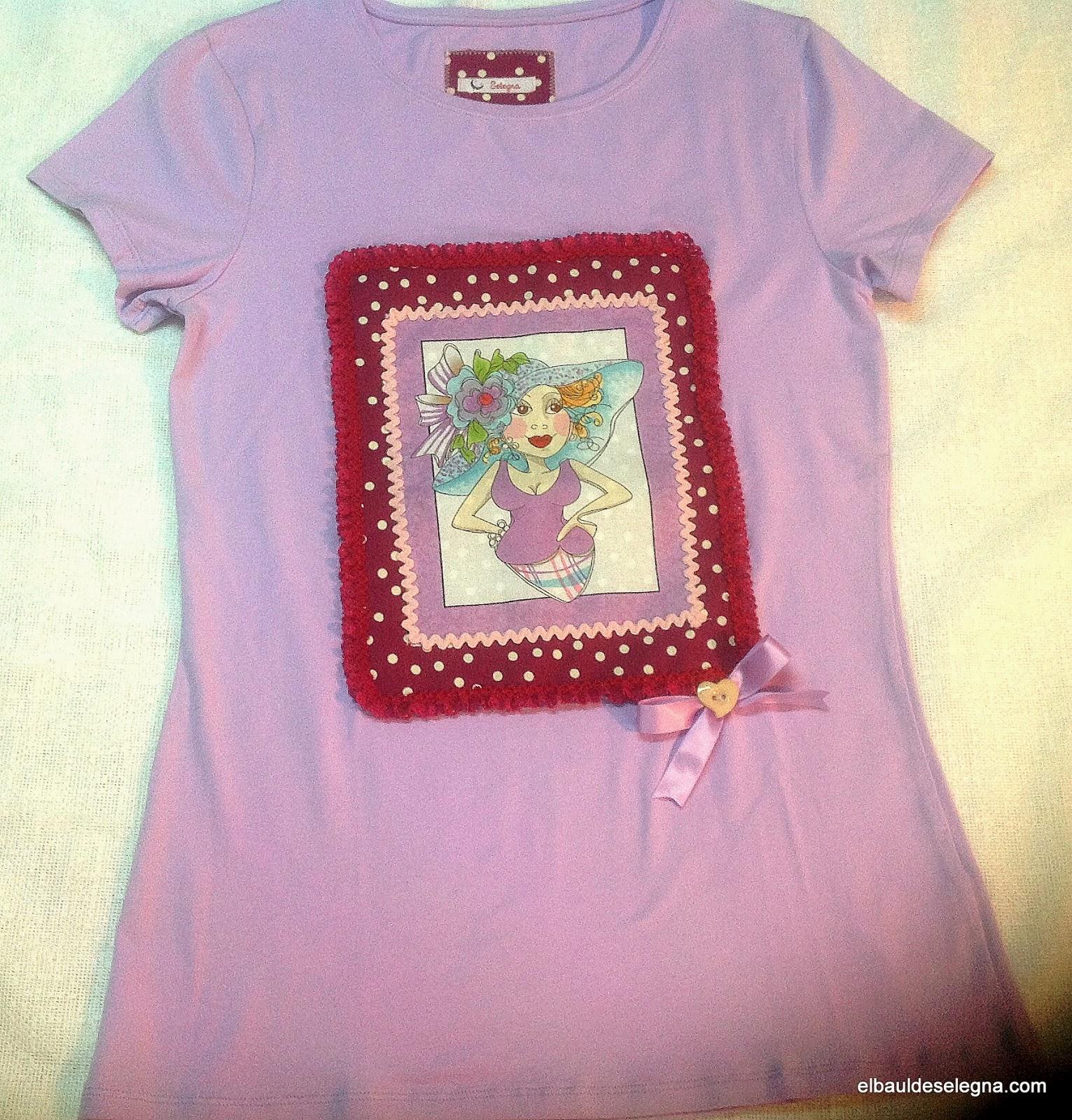 Camiseta chica loca 07
