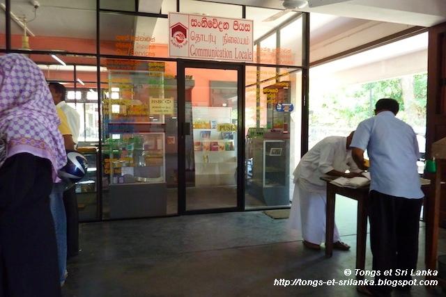 Cartes postales au Sri Lanka