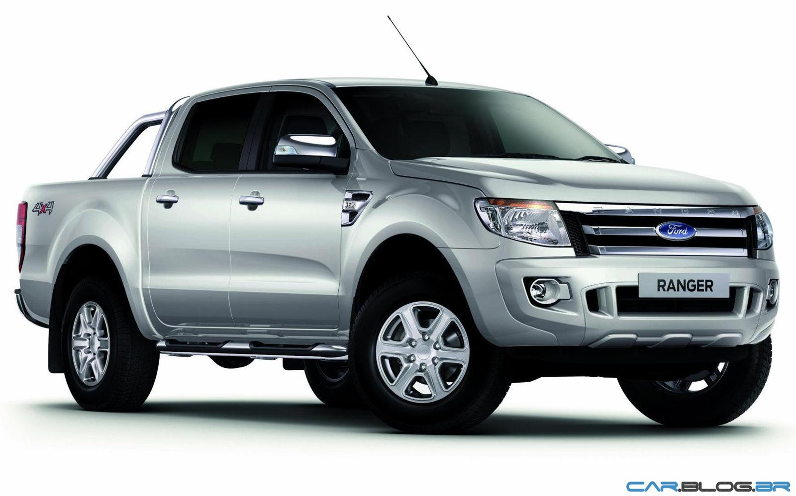 Nova ford ranger 2013 xlt limited 3 2 diesel prata