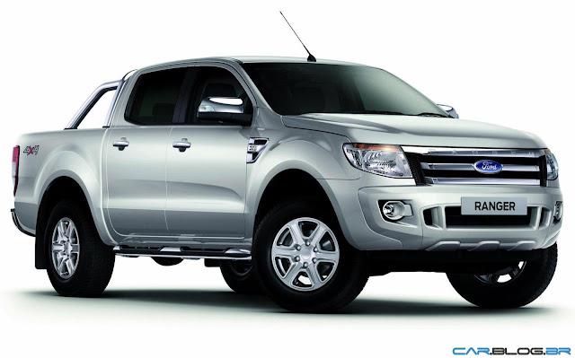Nova Ford Ranger 2013 XLT Limited 3.2 Diesel - prata