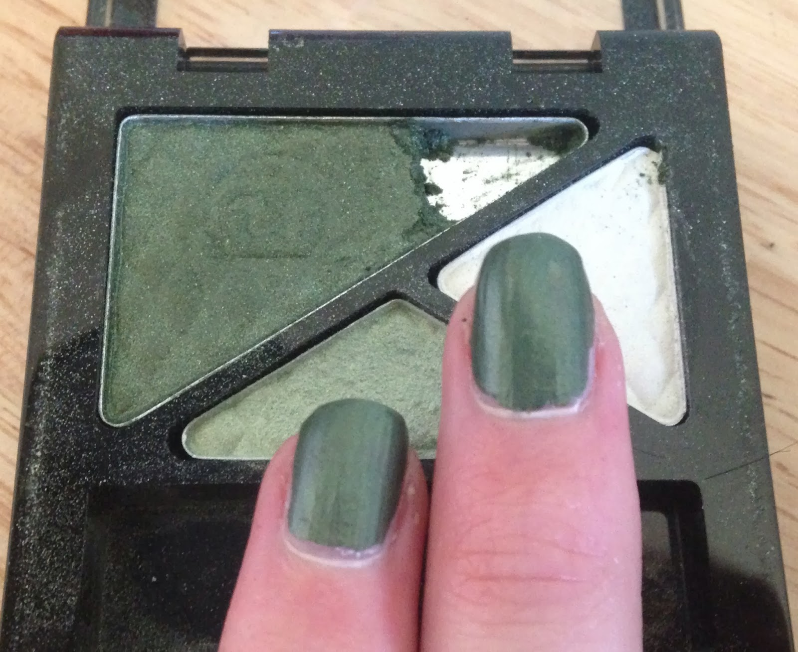 How To, How Hard, and How Much: Eyeshadow Nail Polish