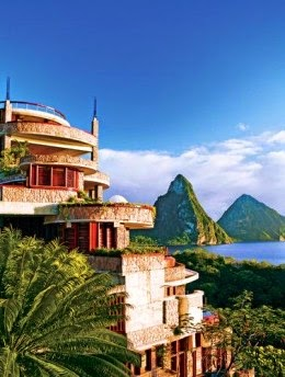 Tropical Vacation Spot St. Lucia