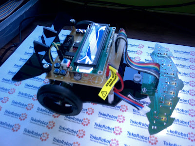 Robot Line Follower M-Robo V1 Evolutions