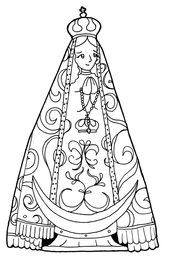 Dibujos para catequesis: VIRGEN DEL VALLE DE CATAMARCA