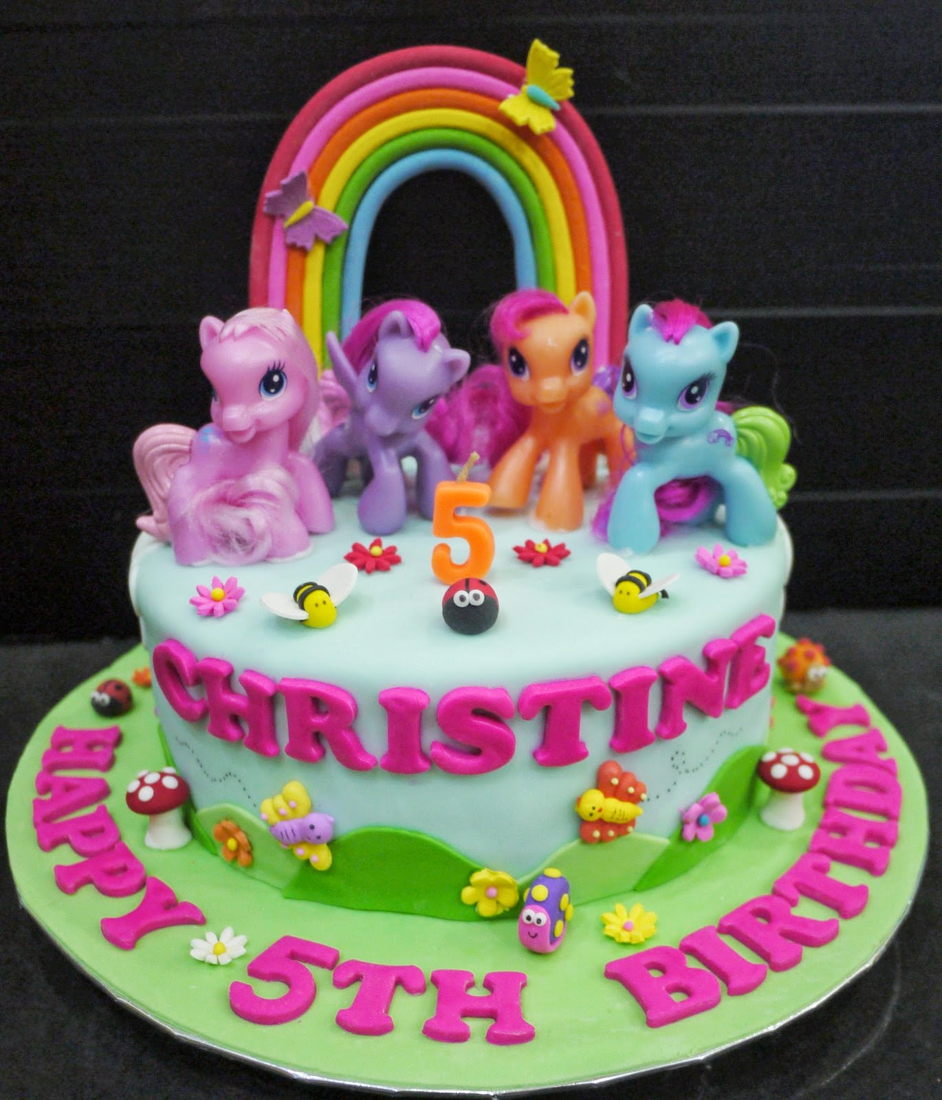 Cupcake Divinity Christines My Little Pony Cake