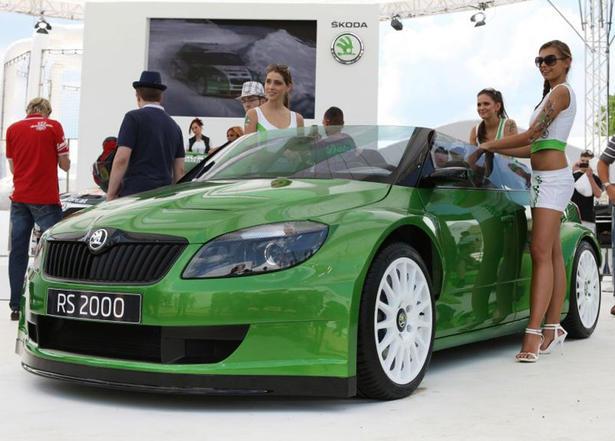 new 2011 Skoda Fabia vRS 2000