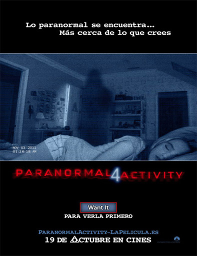 Ver Paranormal Activity 4 (2012) Online