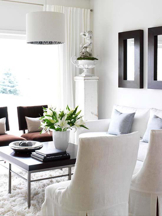 modern furniture decorating with white 2013 summer ideas. Black Bedroom Furniture Sets. Home Design Ideas