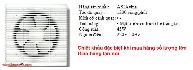 quat hut asia H10001