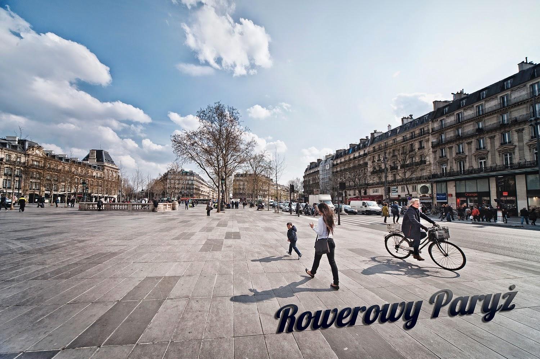 Paryż na rowerach