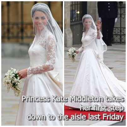 Wedding gown bridal gown royal wedding is princess kates royal wedding is princess kates wedding gown like kebaya junglespirit Image collections