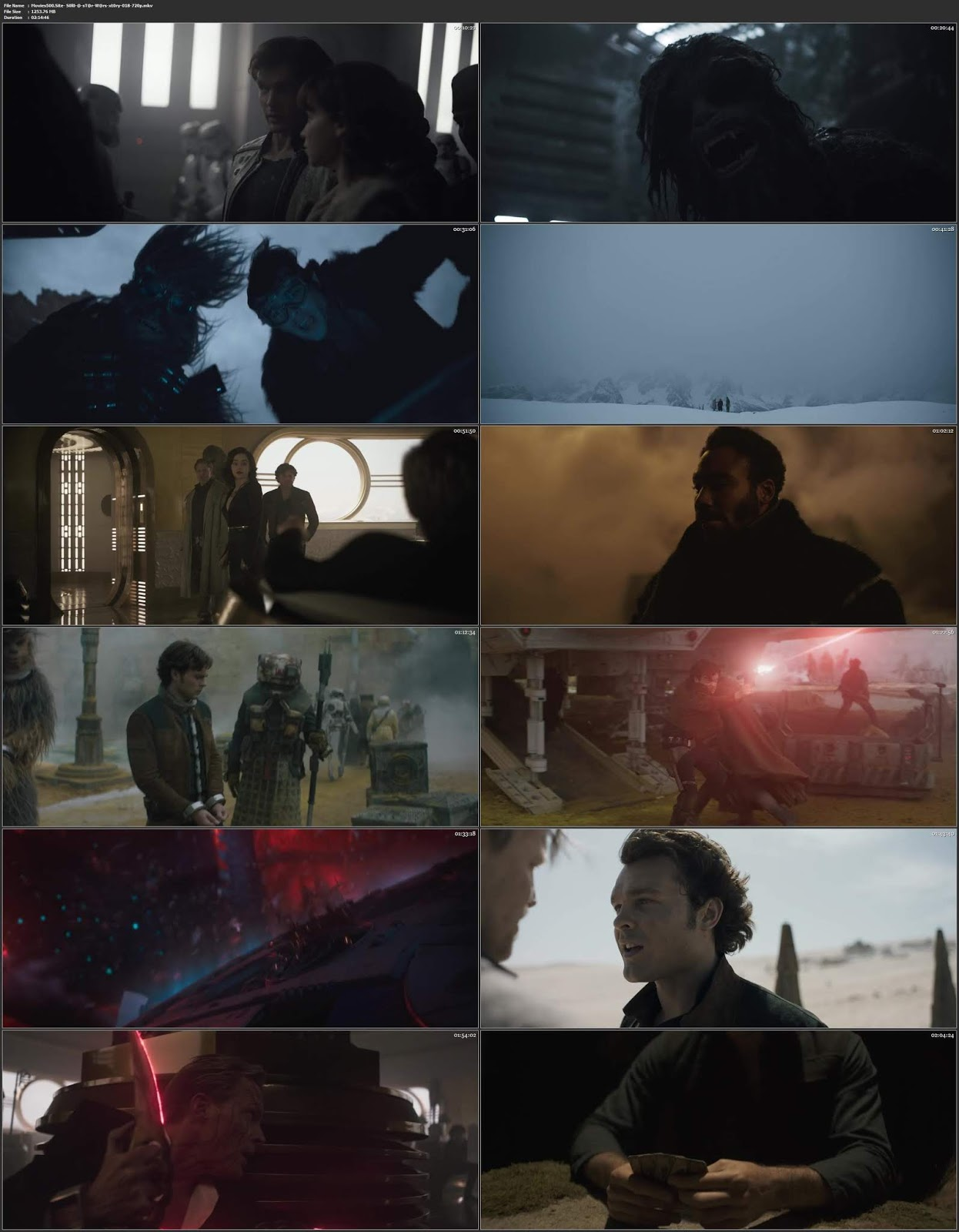 Solo A Star Wars Story 2018 English Movie BluRay 720p ESubs