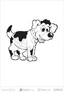 Pokoloruj obrazki i naucz się nazw zwierzątek po angielsku! Miłej zabawy :)