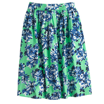 Patio Skirt in Photo Floral