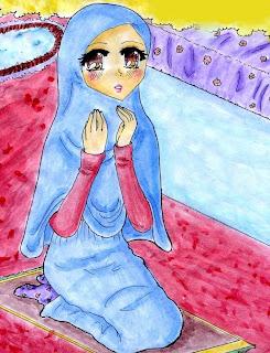 Foto gambar sedang berdoa