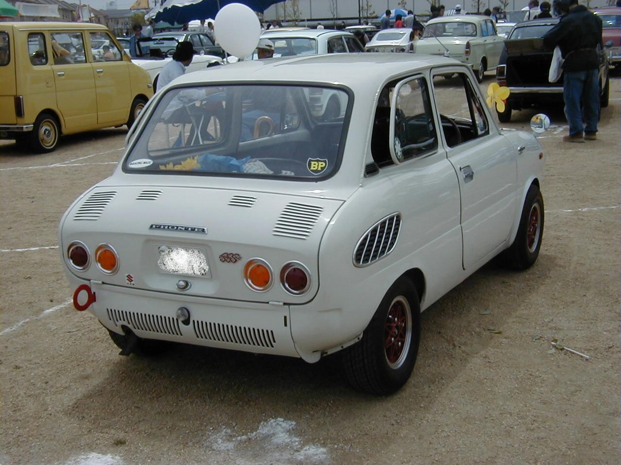 Suzuki Fronte 360 LC10, małe auta, klasyczne kei car