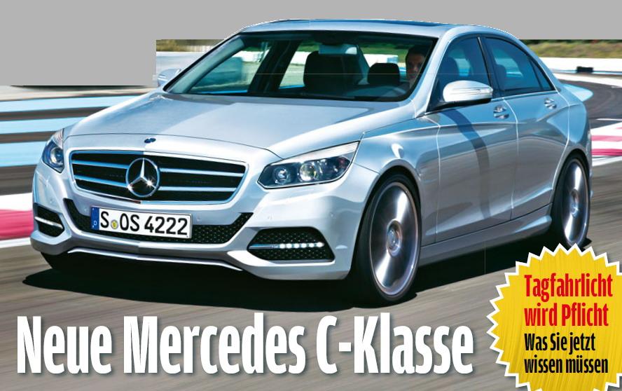 New Mercedes-Benz C-Class 2014