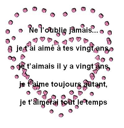 Texte damour messages d 39 amour - Lettre saint valentin pour son cheri ...