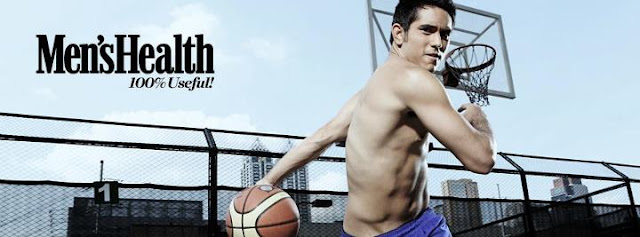 Gerald Anderson shirtless for Men's Health August 2012 issue