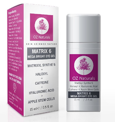 Oz Naturals Mega Bright Eye Gel Review