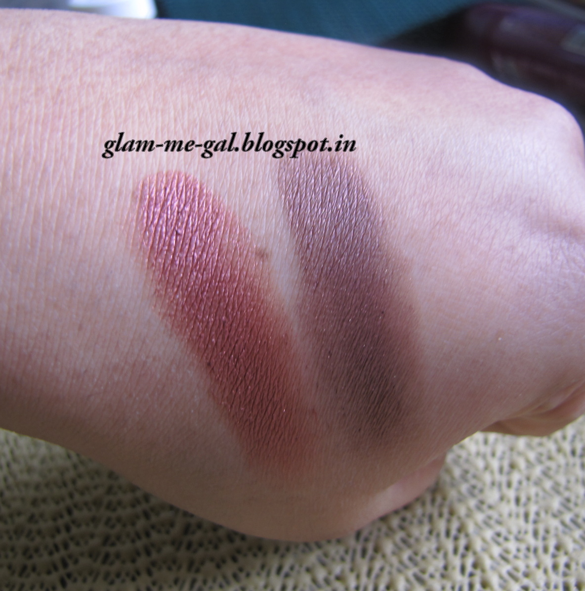 GLAM ME GAL: L'OREAL HIP EYESHADOW DUO IN CHEEKY REVIEW AND EOTD