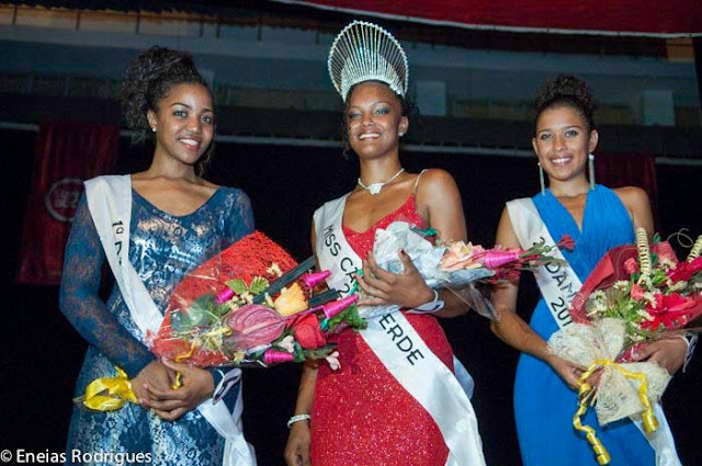 Miss Cape Verde World 2013 winner Christina Spencer