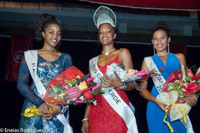 Miss Cape Verde World 2013 winner Christina Spencer