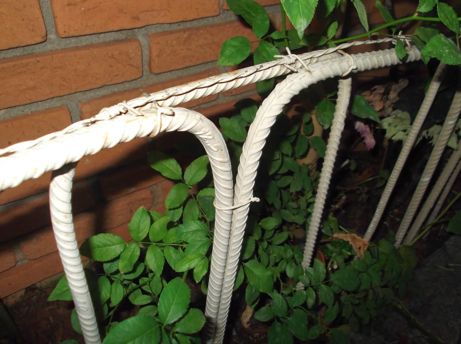 cerca de jardim ferro: EM MIÚDOS: CERCAS PARA JARDIM E RECICLAGEM – FERRO PARA CONSTRUÇÃO