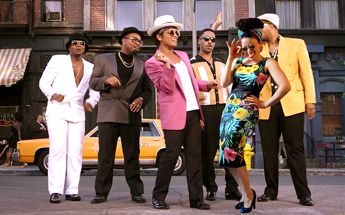 oonaballoona |uptown funk nettie dress | bruno mars