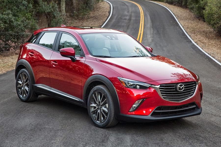 Mazda CX-3 (2016) Front Side