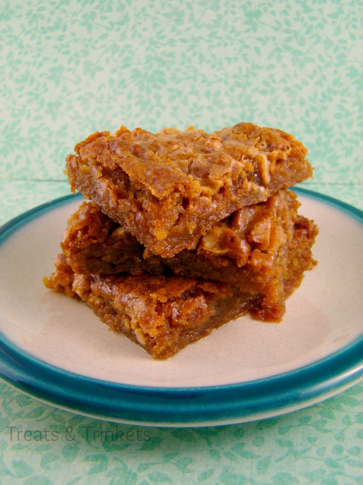 Treats & Trinkets: Maple Browned Butter Blondies