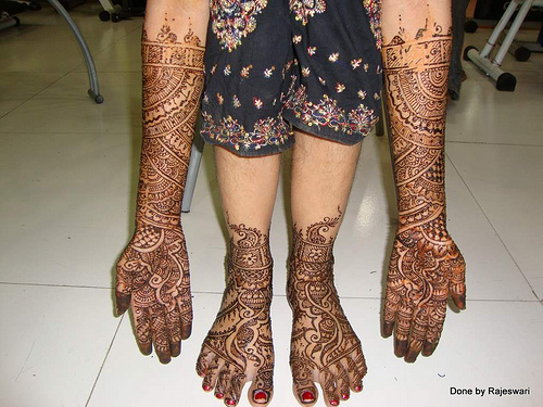 Mehndi Legs Images : Special mehndi designs for legs bridal