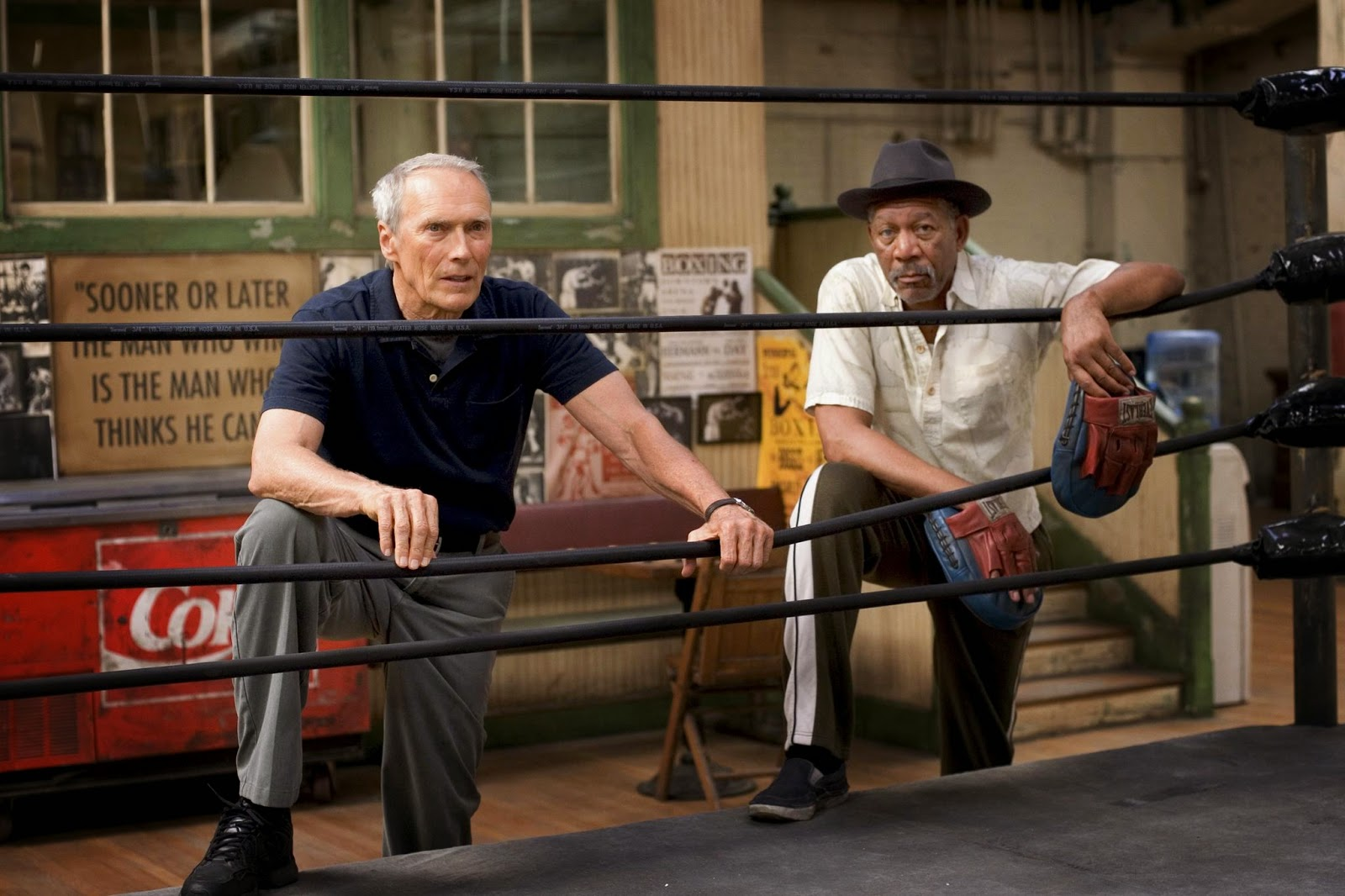 million dollar baby-clint eastwood-morgan freeman