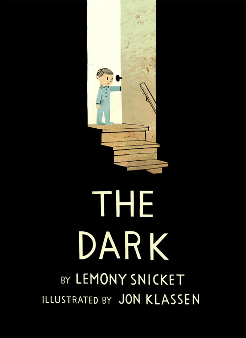 Illustrated Book Cover Up ~ Super punch the dark by lemony snicket and jon klassen