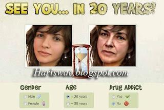edit foto merubah wajah terlihat tua, mengubah wajah menjadi nenek-nenek