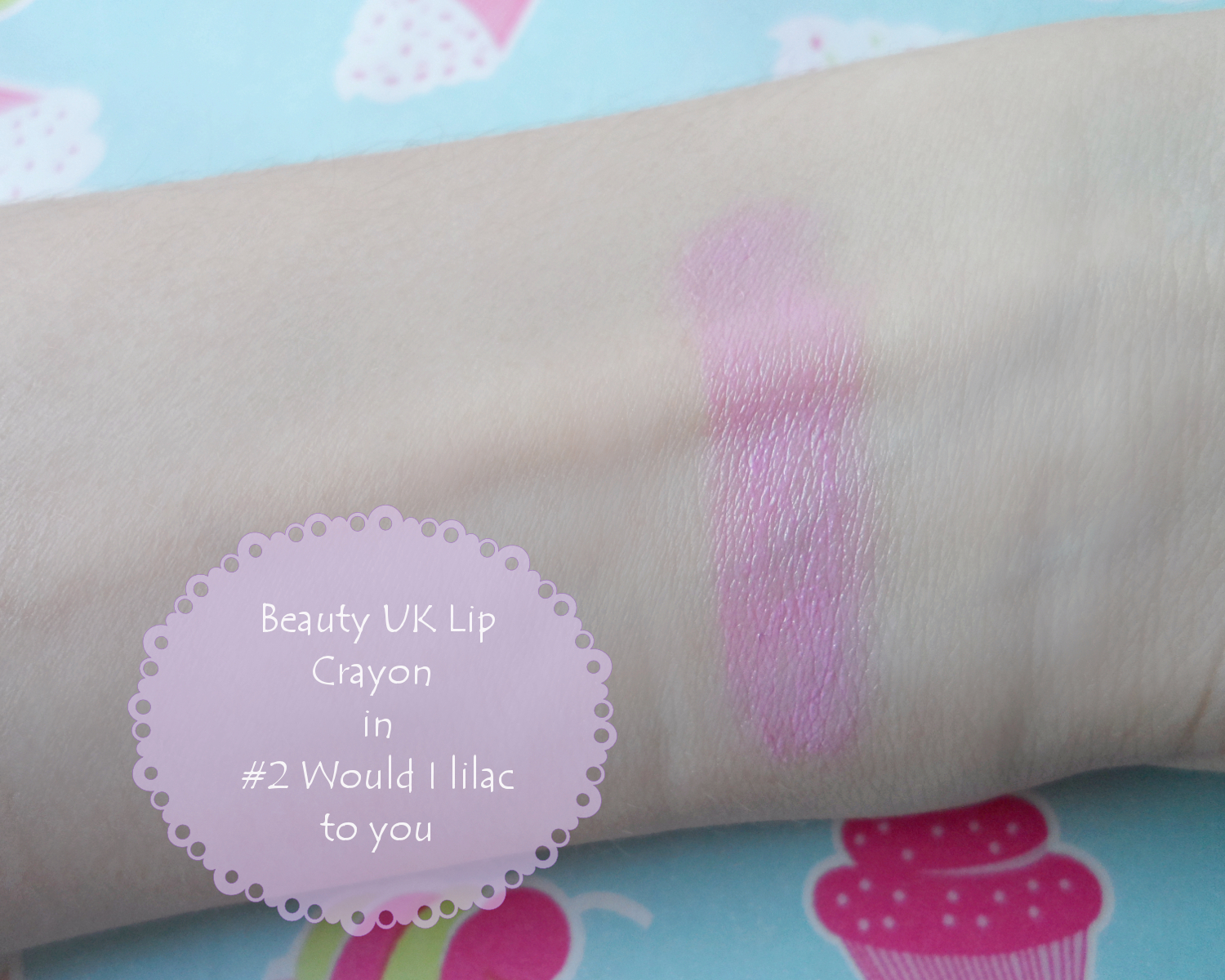 Beauty UK Posh Pout Lip Crayon would I lilac to you