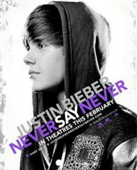 justin bieber never say never movie on dvd. justin bieber never say never